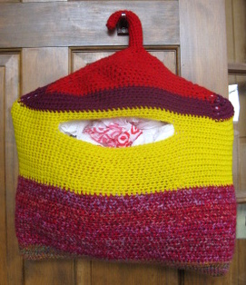 Ravelry: Plastic Bag Holder pattern by Bonnie Barker