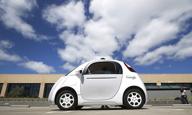 self-driving cars by Google