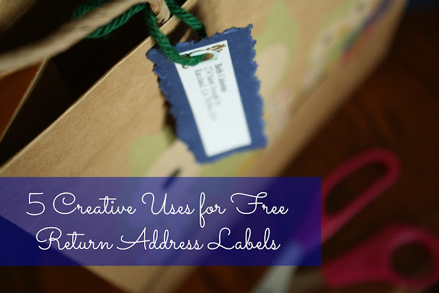 5 Creative Uses for Free Return Address Labels