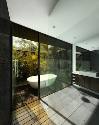 natural green bathroom interior design trends 2012