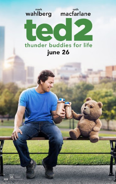 Poster Of Ted 2 (2015) 720p Hindi BRRip Dual Audio Full Movie