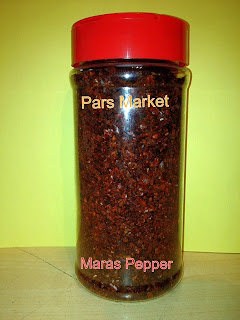 At Pars Market we carry the best quality of Turkish Marash Pepper as well as other great spices we just have for you! Our spice selections are huge and you find full line of all Middle Eastern and Mediterranean spice selection at Pars Market in Columbia Maryland.