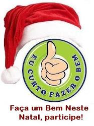 """Ação de Natal """"Eu Curto Fazer o Bem"""" 2012."""
