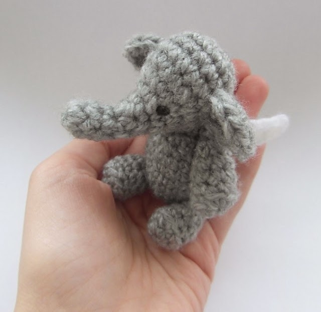 Melissas Crochet Patterns: Happy Save the Elephant Day ...