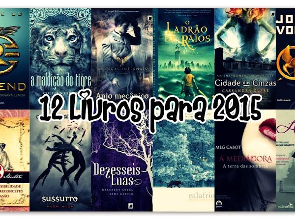 12 Livros para 2015