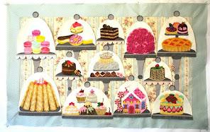 Sweet 2016 Wall Hanging BOM