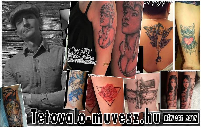 2017 * Déw Art * Professzionális Tetoválás Szegeden.