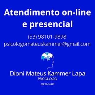 Psicólogo Mateus Lapa
