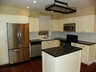 Pensacola Property Management ~ updated kitchen yields higher rents!