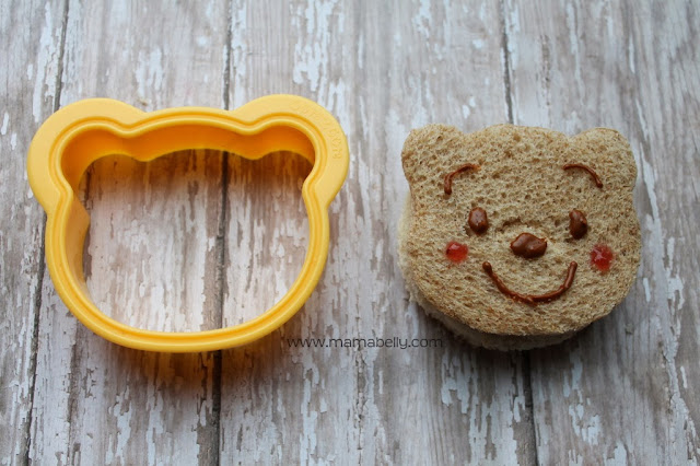A Winnie the Pooh bento {with link party} and tutorial - mamabelly.com