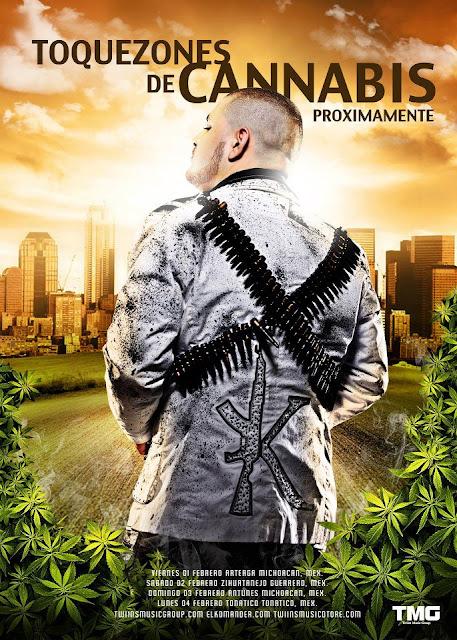 El Komander - Toquezones De Cannabis 2013