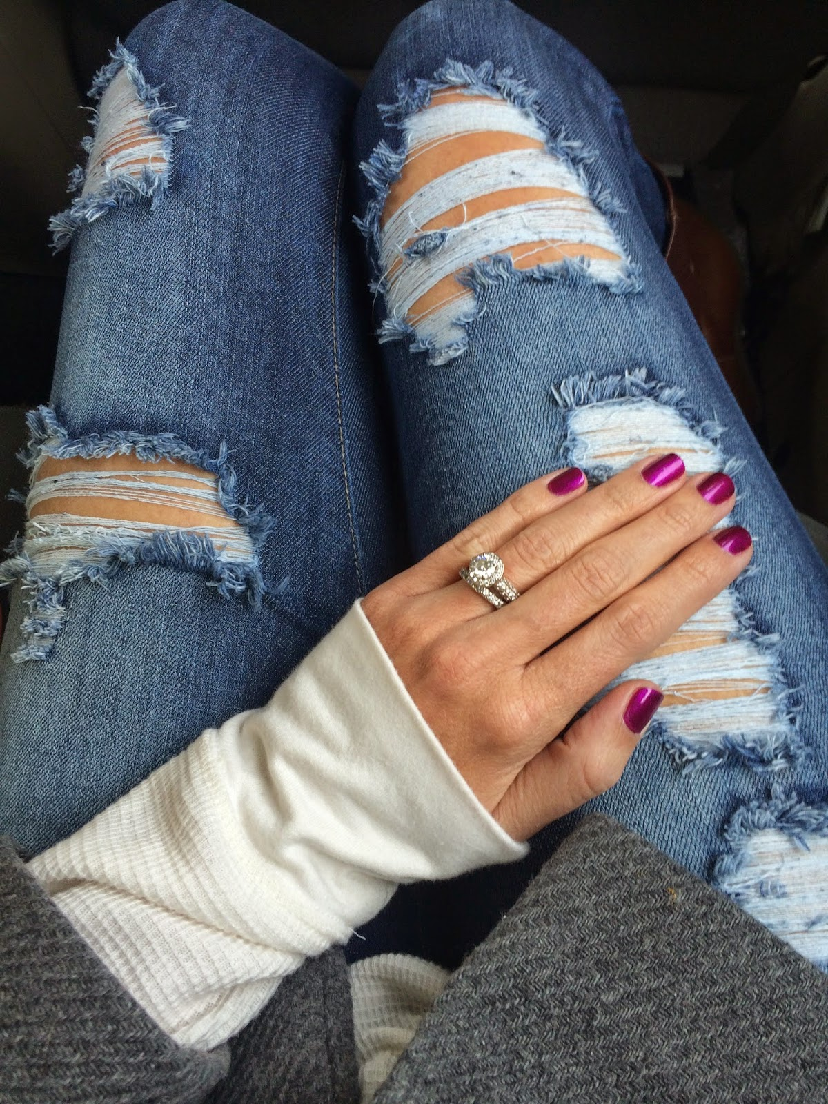 Sally Hansen Miracle Gel Forever 21 Jeans