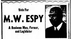 State Senator M.W. Espy (update)