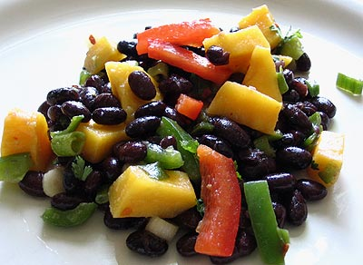 Black Bean Mango Salad | Lisa's Kitchen | Vegetarian Recipes | Cooking ...