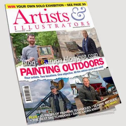 Artist and Illustrator Magazine Summer 2013