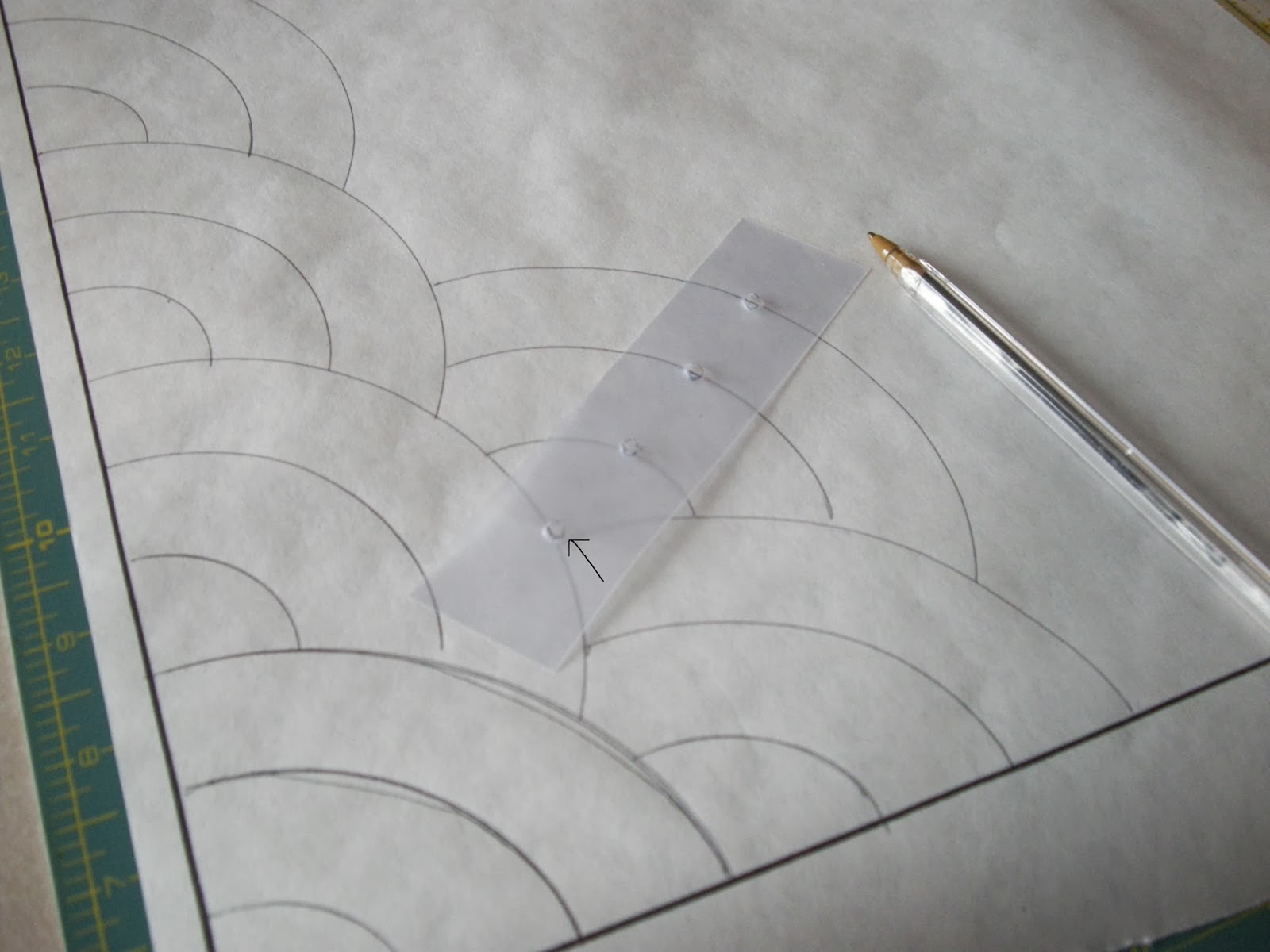 Quilty Folk: Part #1: Learning How to Make the Baptist Fan Pattern ...