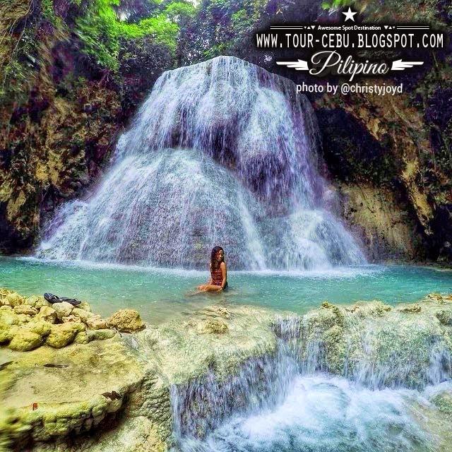 Aguinid Samboan Falls Cebu