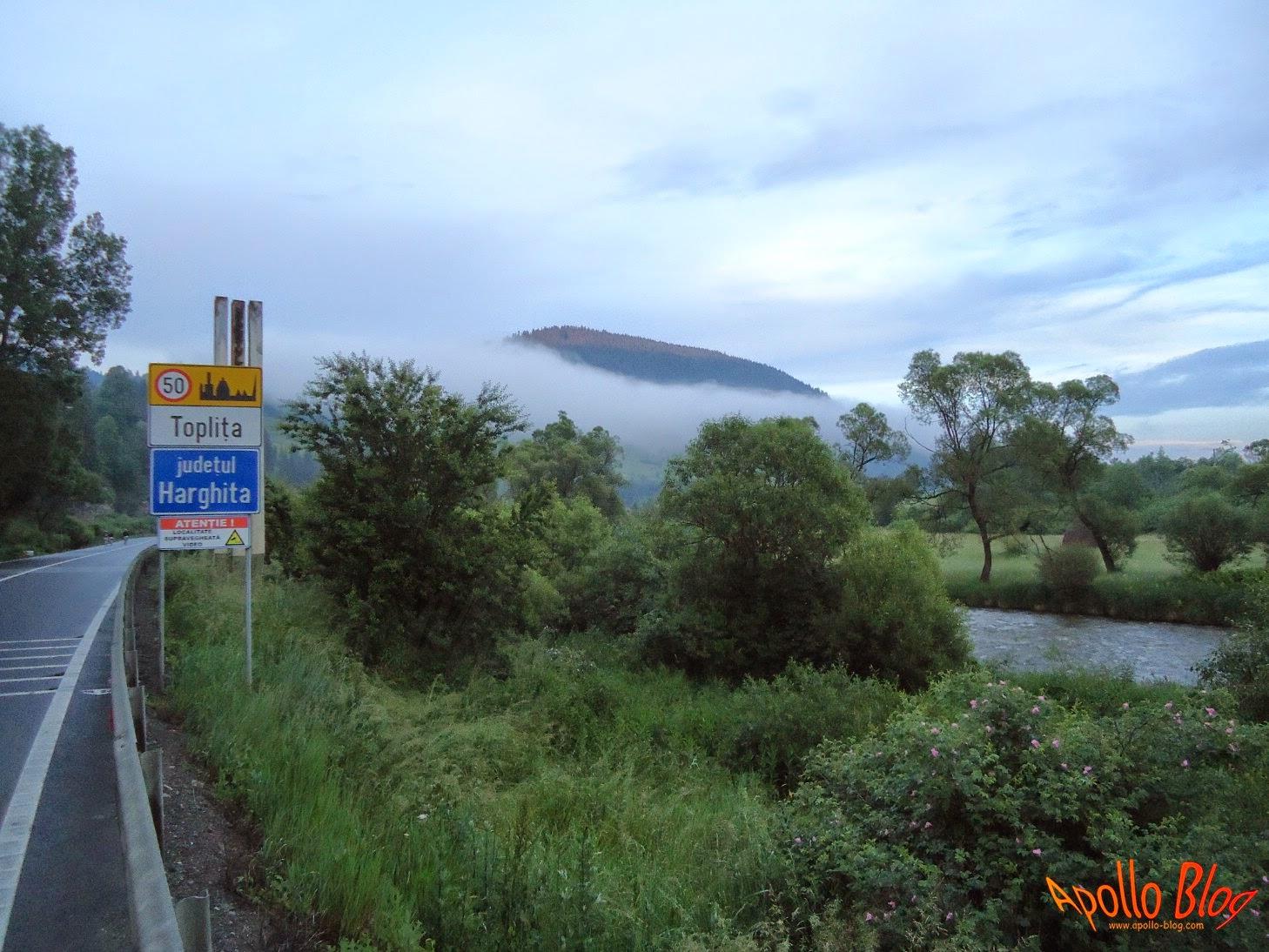 Intrarea in Toplita