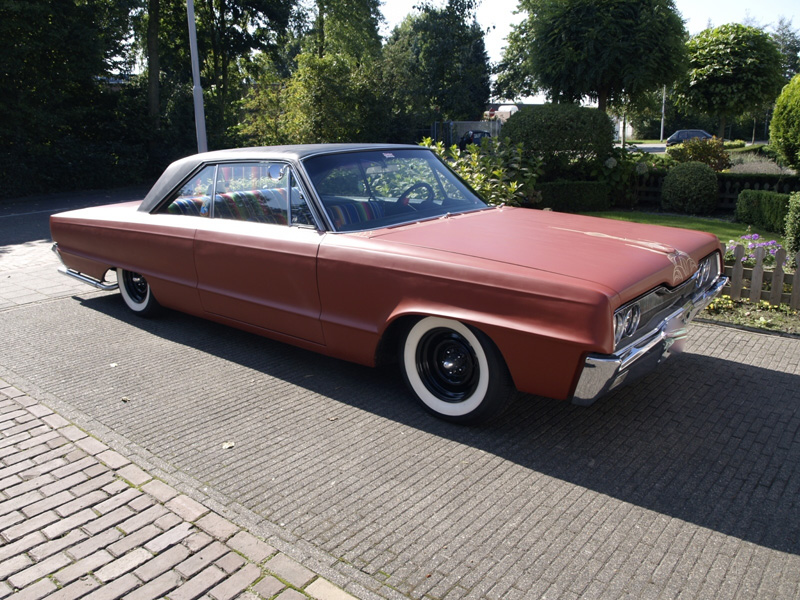Working.Cl.Kustoms: Custom 1966 Dodge Polara // For Sale