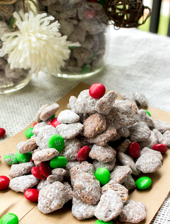 reindeer chow christmas recipe