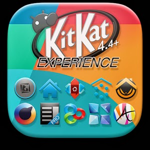 KitKat 4.4 Launcher Theme APK Download