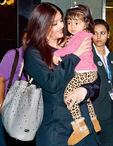 Aishwarya Rai Baby Aaradhya recent photos
