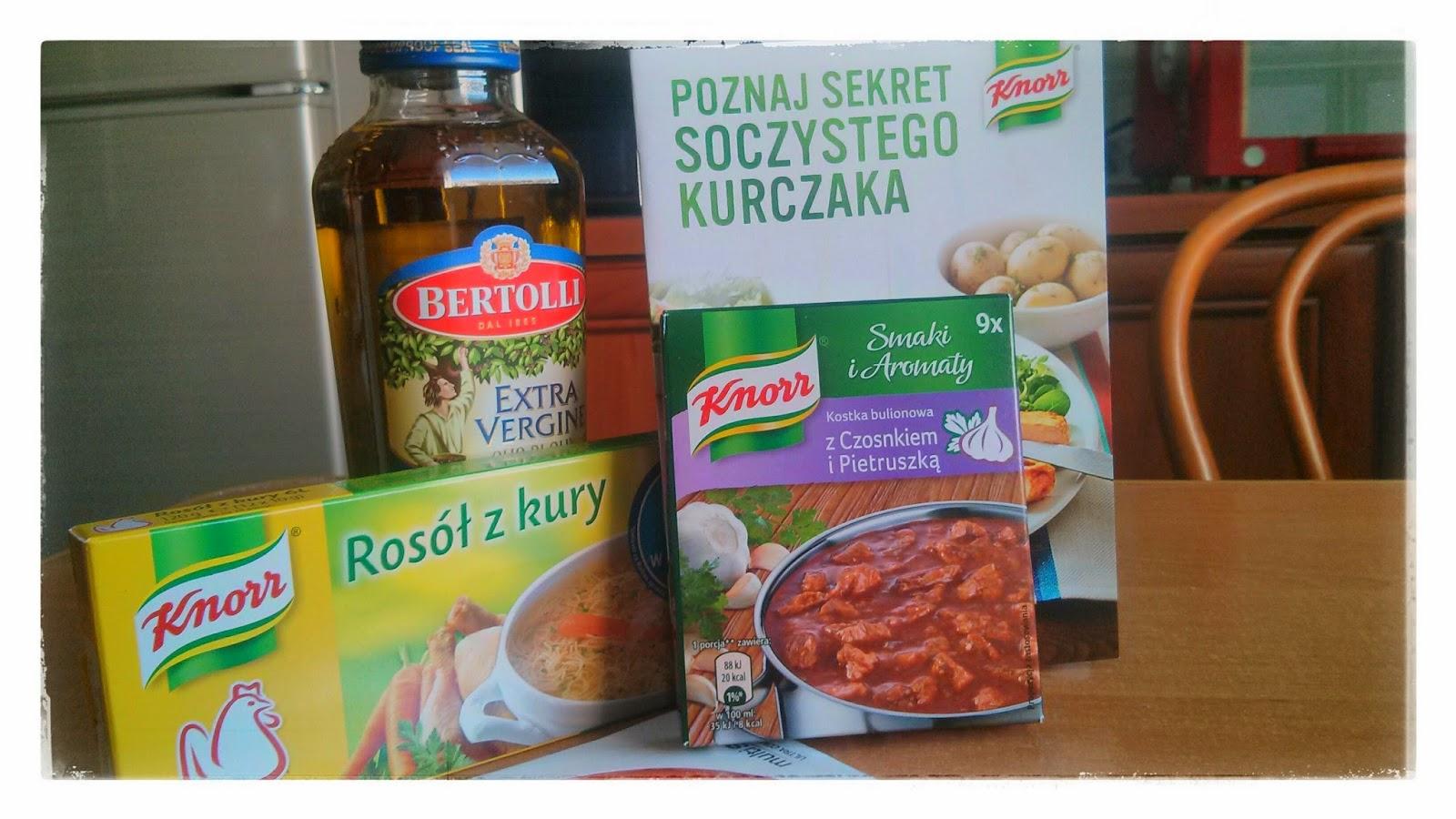 Soczysty kurczak Knorr