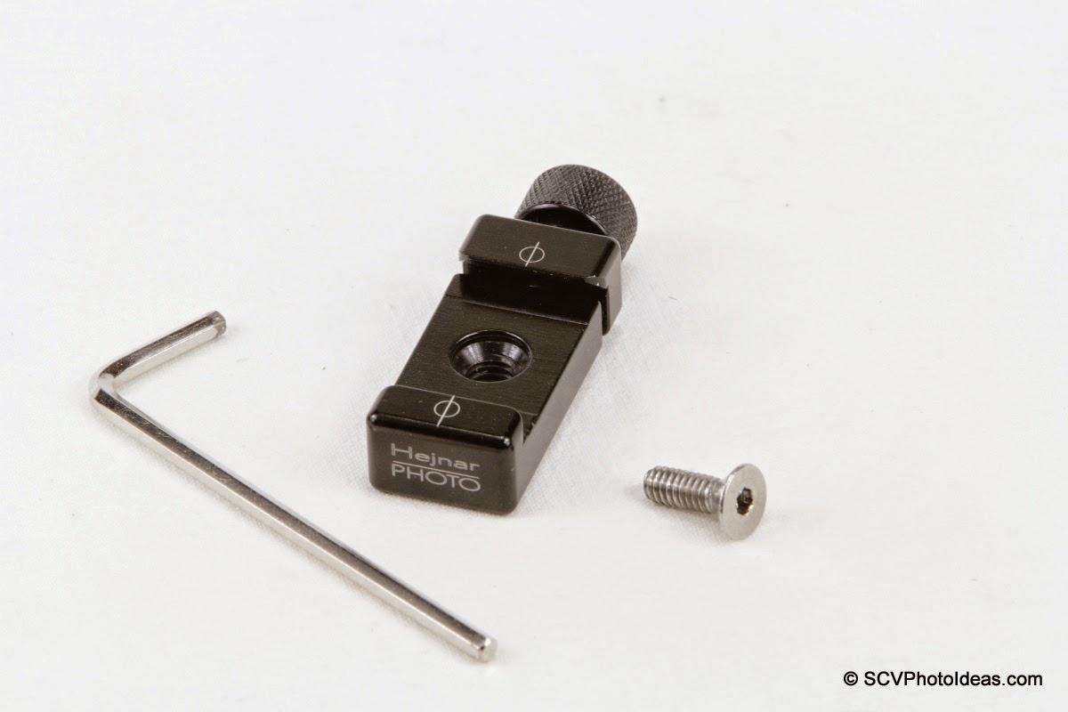 "Hejnar Photo F60 1"" QR clamp w/ screw + hex key"
