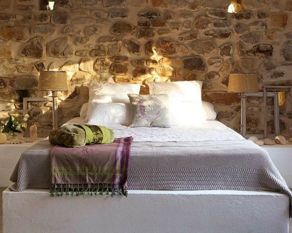 Camera Da Letto Con Boiserie : Boiserie & c.: 15 meravigliose camere da letto con la pietra