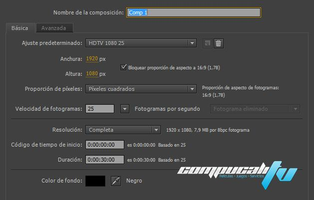 Adobe After Effects CC Versión 12.0