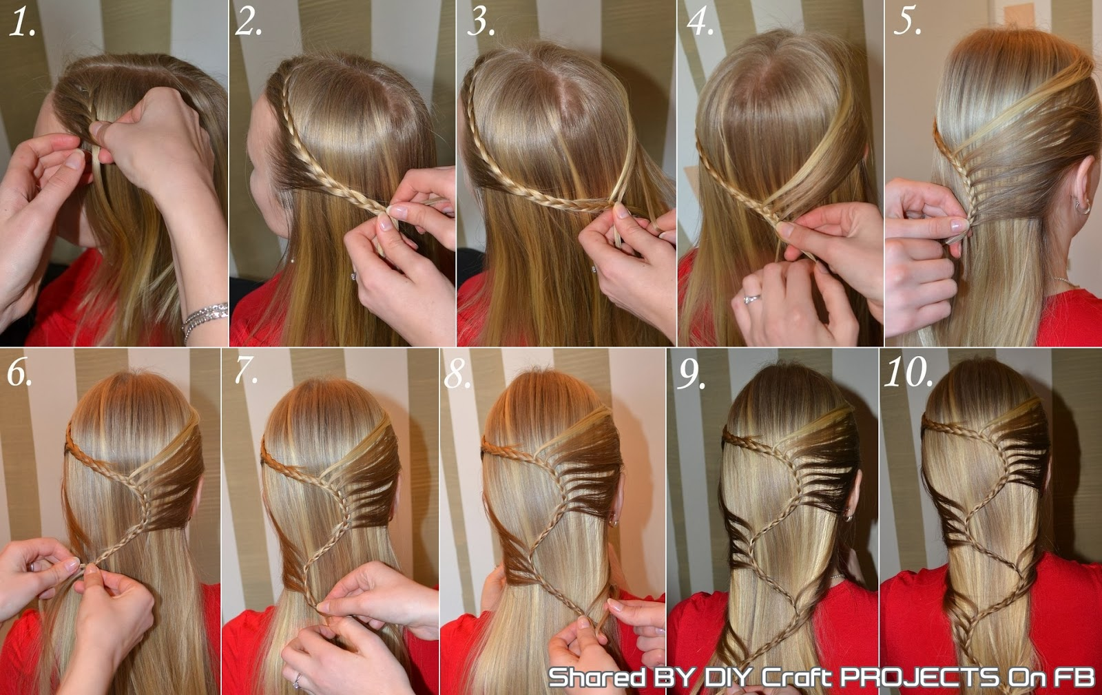 sbraid hairstyle step by step diy craft projects