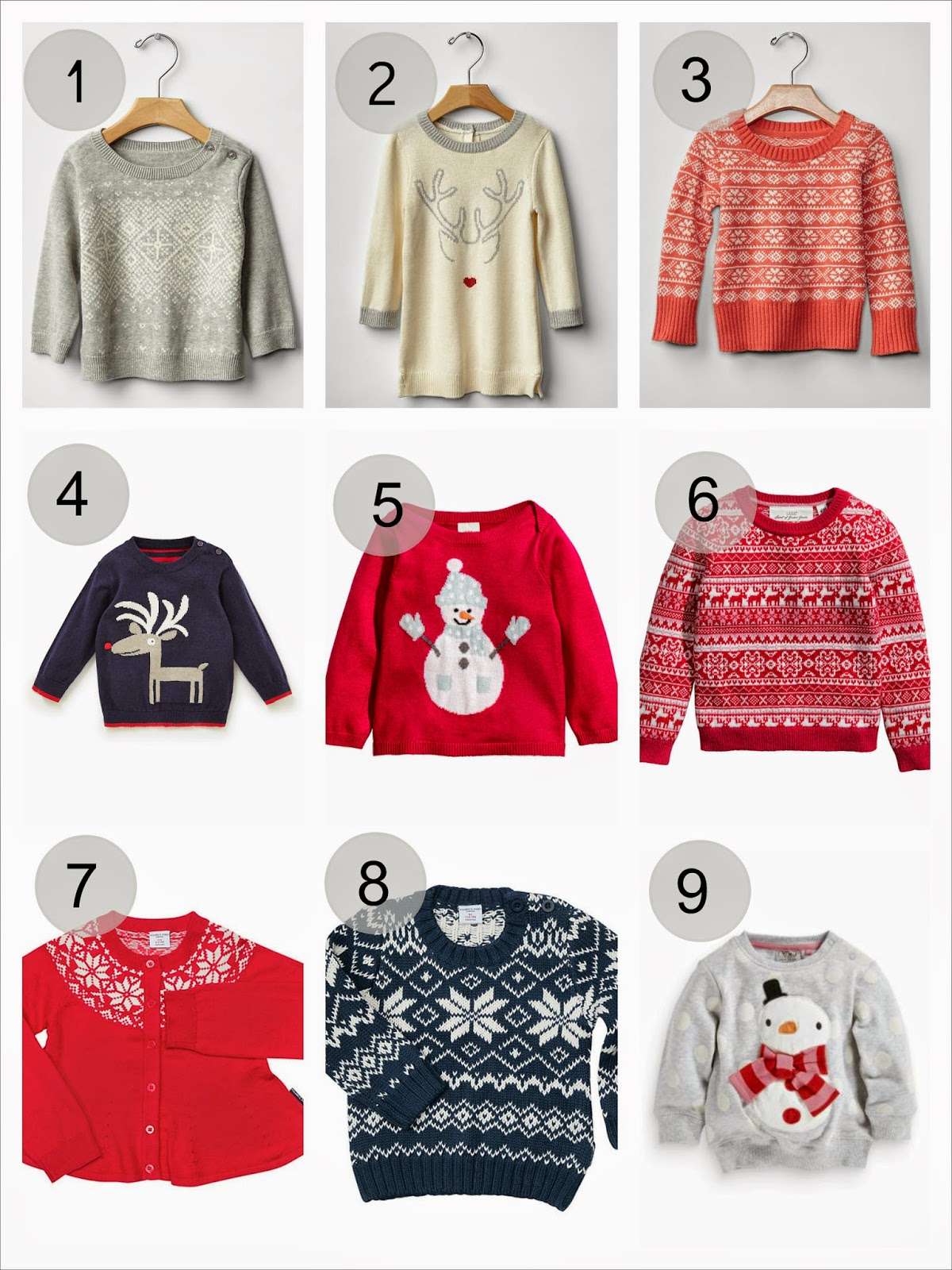 Best Christmas jumpers for babies and toddlers 2014