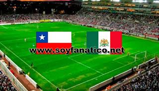Selección Chile vs México por Copa América 2015