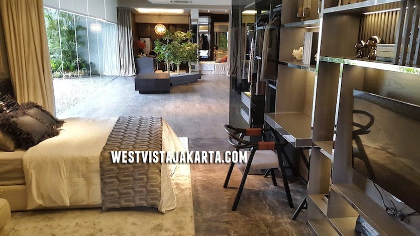 Show Unit 1 BR West Vista Jakarta