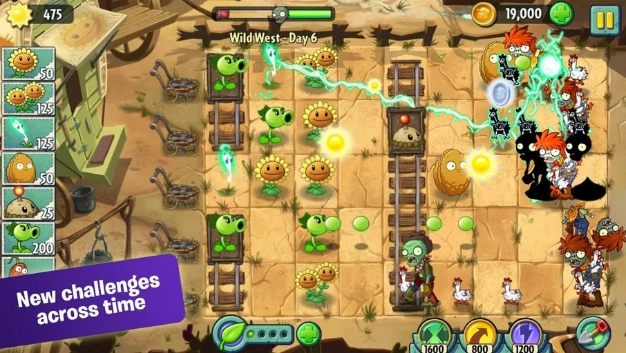Plants vs Zombies 2: Now on Android