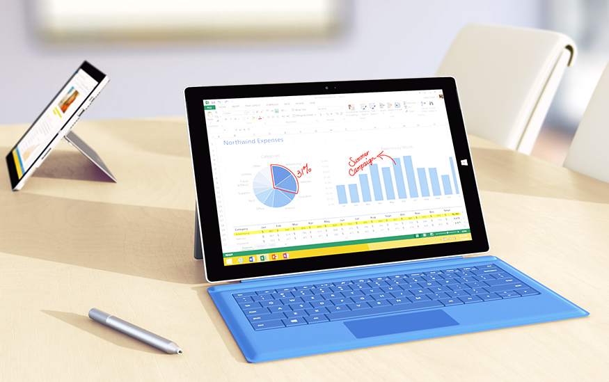 training courses microsoft surface pros