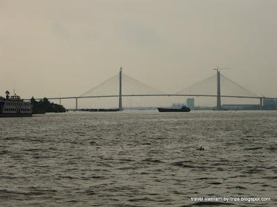 Rach Mieu bridge over Tien river