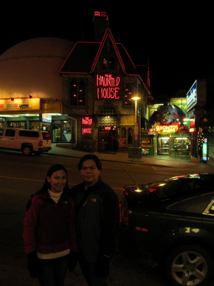 Ontario Canada Clifton Hill Haunted House