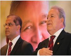 Salvador Sanchez Ceren y Oscar Ortiz Con la Fusion en el FMLN Traicionaron al Proletariado