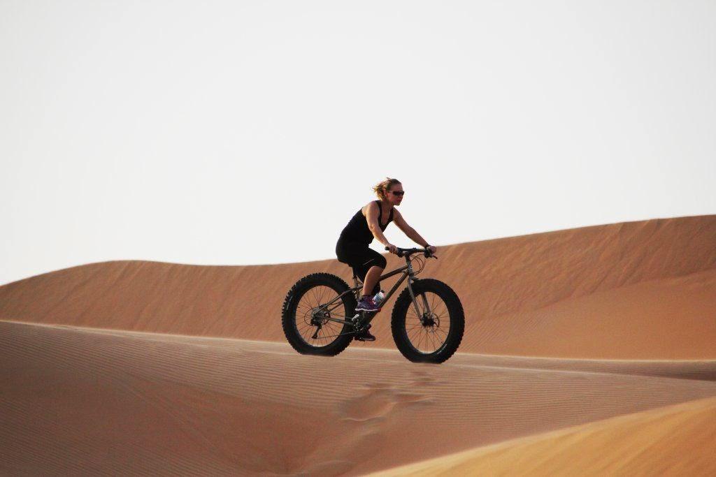 Fat Bike Tripping - einmal ohne 4x4 im Sand