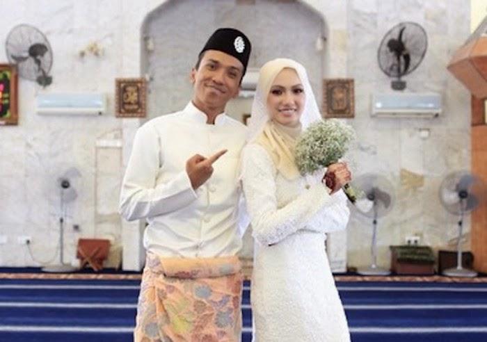 Fad Bocey dan Nur Syahirah Selamat Bergelar Suami Isteri