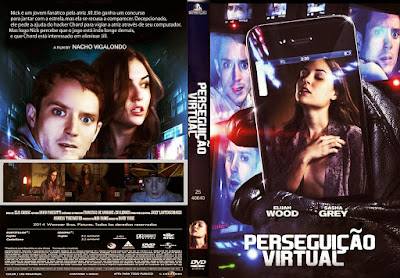 Filme Perseguição Virtual DVD Capa