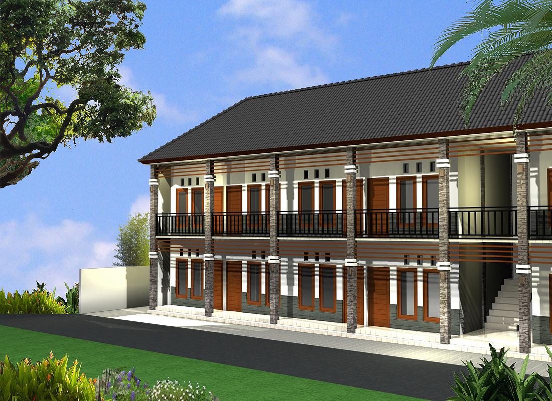 Contoh Desain Rumah Kos - Kosan