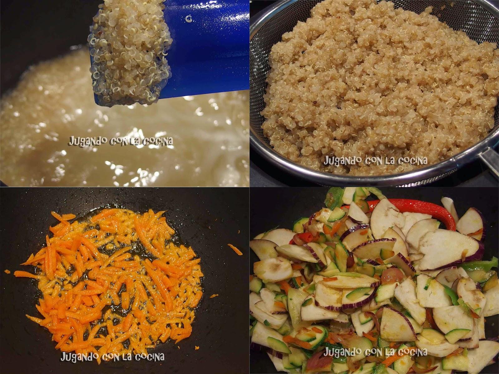 Jugando con la cocina quinoa con verduras for Cocina quinoa con verduras