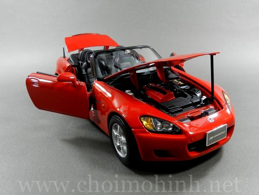 Honda S2000 1:18 Maisto front