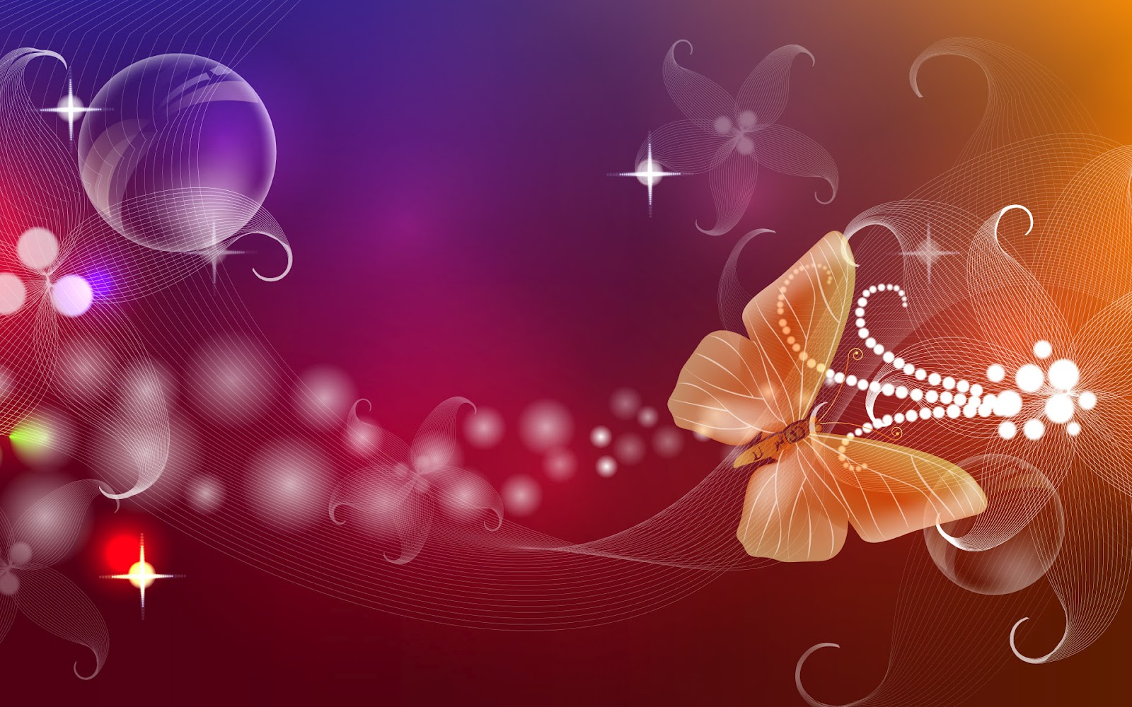 3D Butterfly Wallpapers Full Colours