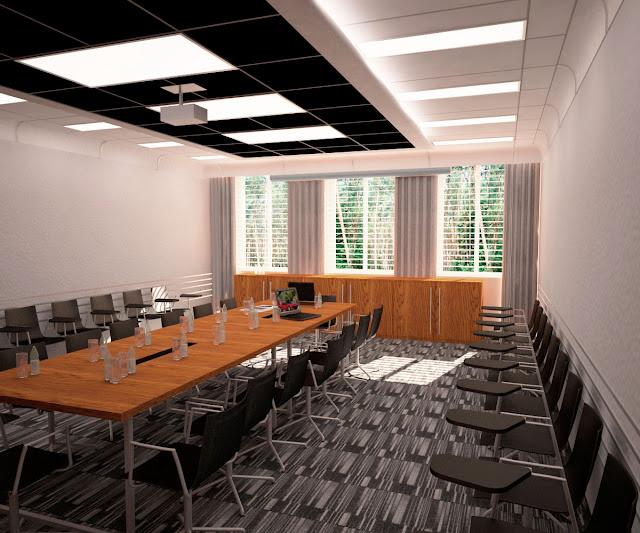 Дизайн конференц зала АБК завода