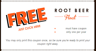 a and w restaurant birthday freebie coupon