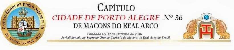 Capítulo Cidade de Porto Alegre Nº 36
