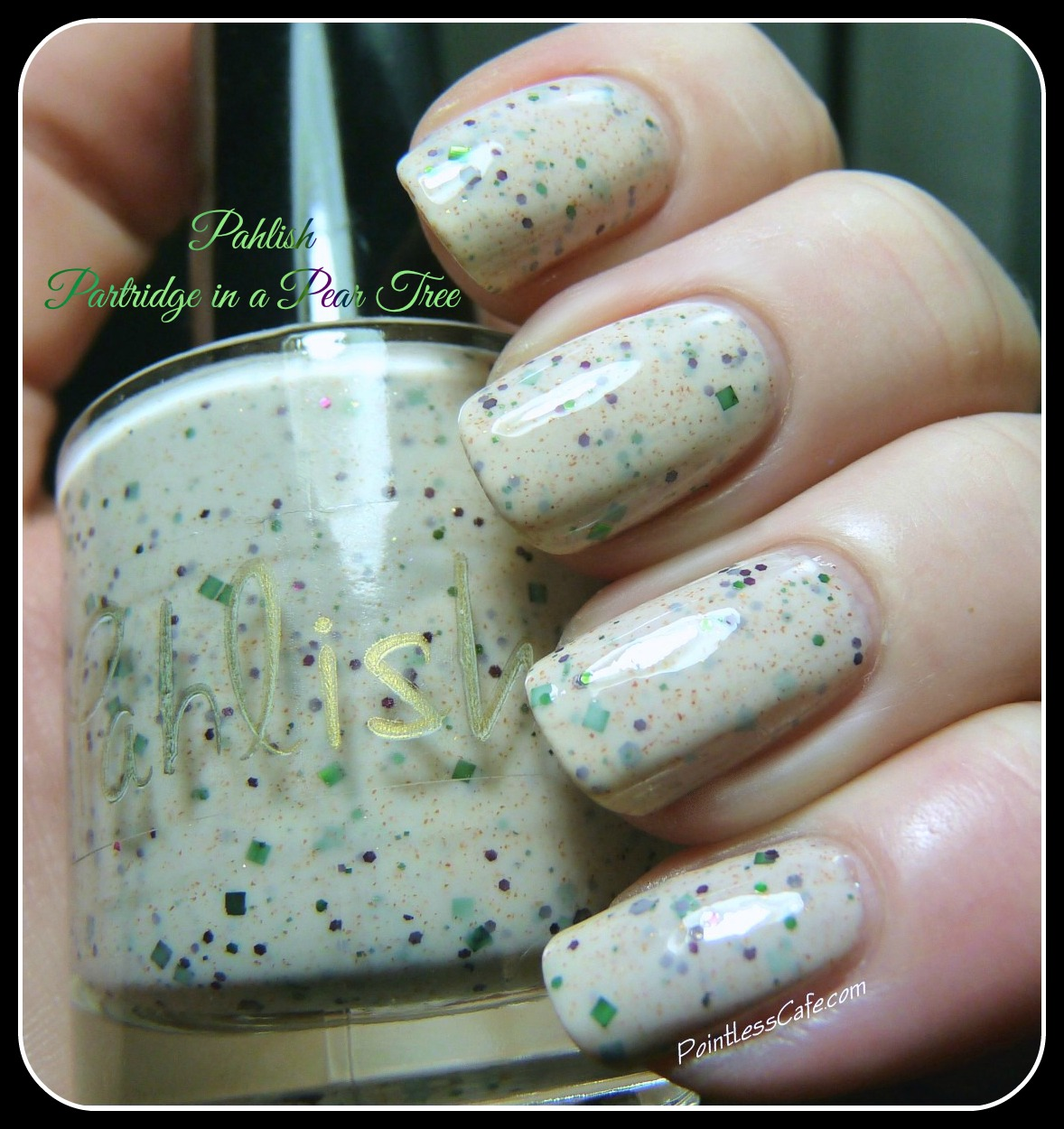 Nail of the Day: Pahlish Partridge in a Pear Tree | Pointless Cafe